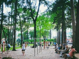 Top 9+ công viên đẹp ở Sài Gòn