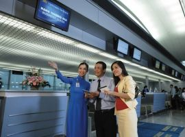 Check in online Vietnam Airlines, Vietjet Air và Jetstar